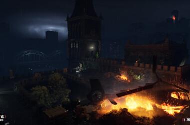 torre del reloj de Resident Evil 3